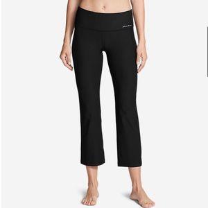 NWT Eddie Bauer Capri Yoga Pants
